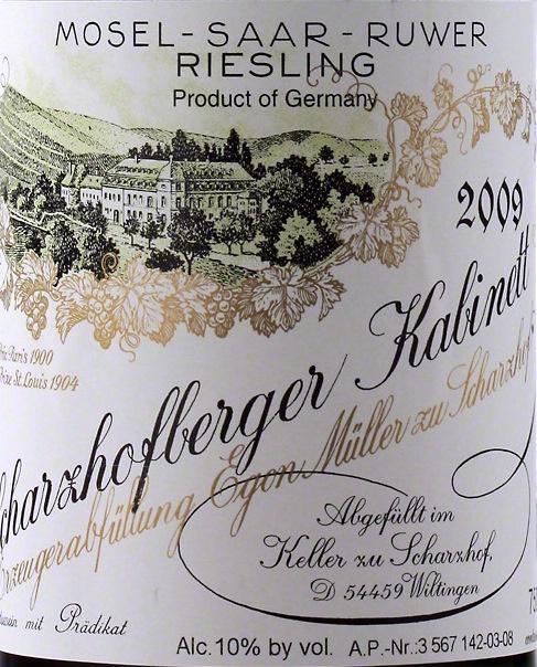 Scharzhofberger Kabinett 2003
