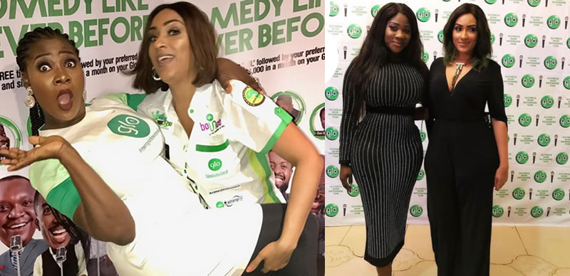 Celebrities: Mercy Johnson and Juliet Ibrahim