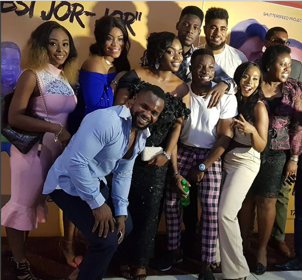#BBNaija reunite at picture perfect premiere