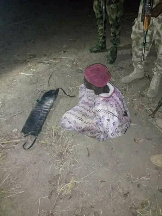 Soldiers intercept teenage bomber in Adamawa [Photos]