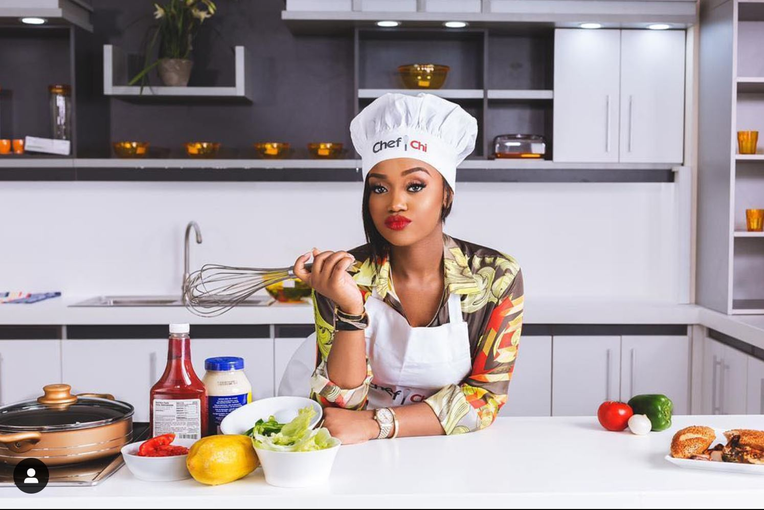 Image result for chef chioma cooking
