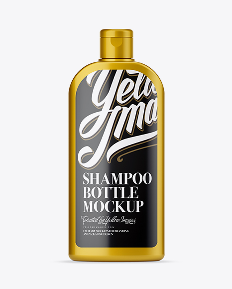 Download Matte Shampoo Bottle Psd Mockup Yellowimages