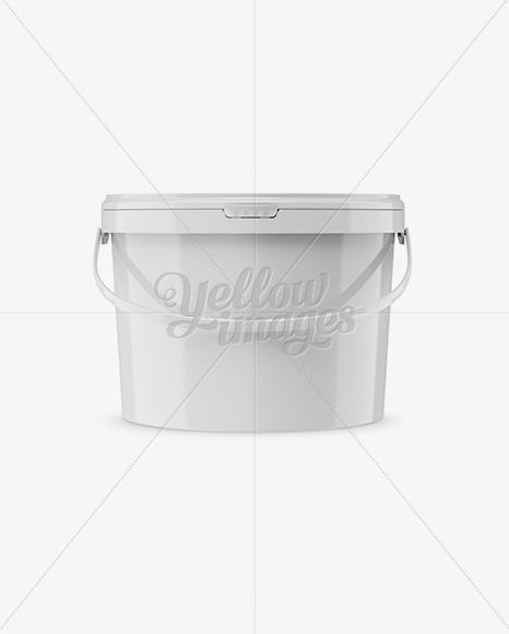 Download 5l Metallic Bucket Psd Mockup Yellowimages