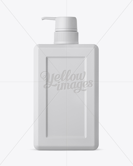 Download Matte Metallic Square Bottle Psd Mockup Yellowimages