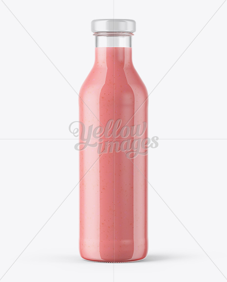 Download Clear Glass Pink Drink Bottle Psd Mockup Yellowimages