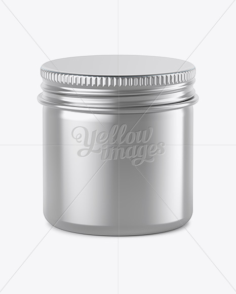 Download Metal Round Tin Can Psd Mockup Yellowimages