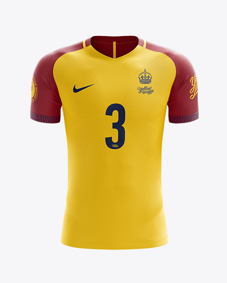 Download Men's Soccer Team Jersey mockup (Back View) - Men's Soccer ...