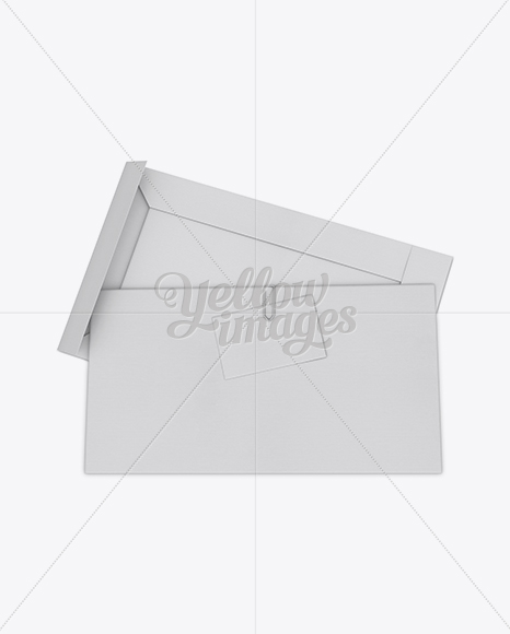 Download Carton Matchbook Psd Mockup High Angle View Yellowimages