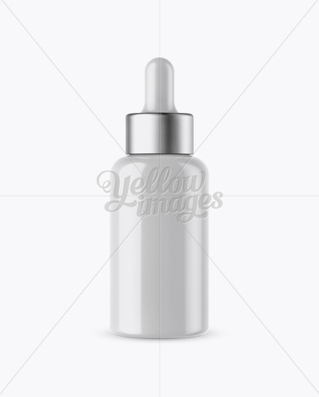 Download Glossy Oil Bottle Psd Mockup Yellow Images
