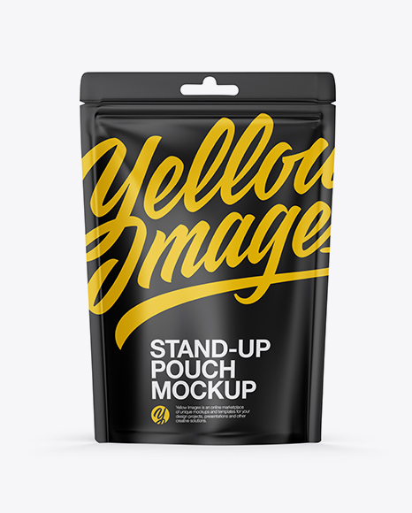5996c13df01b7 Matte Stand-up Pouch Mockup templates