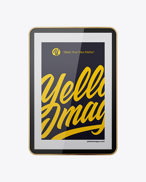 Download Holding Cell Phone Mockup Yellowimages