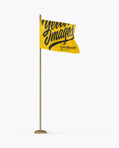 Download Free Online Flag Mockup Yellowimages