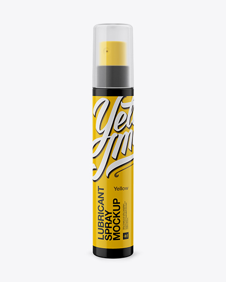 Download Frosted Plastic Sprayer Bottle Psd Mockup Yellowimages
