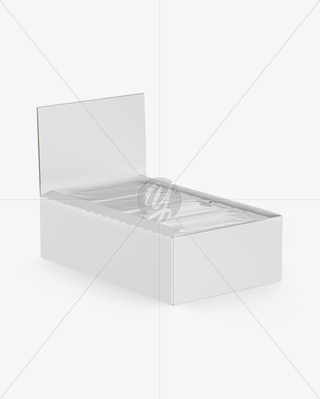 Download Opened Box Food Trays Psd Mockup Yellowimages