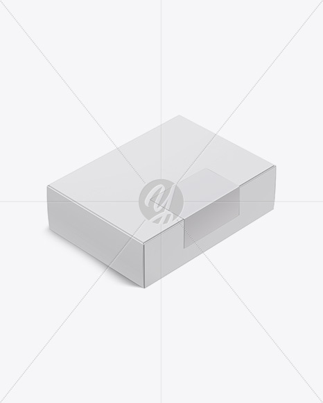 Download Square Matte Box Psd Mockup Half Side View Yellow Images