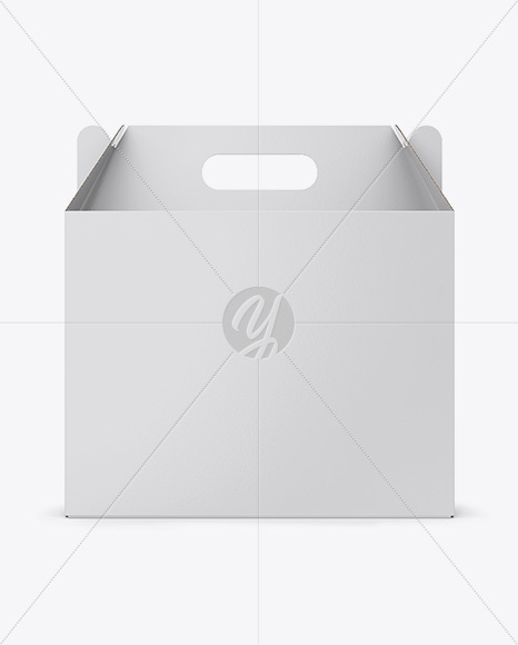 Download Square Matte Box Psd Mockup Half Side View Yellowimages