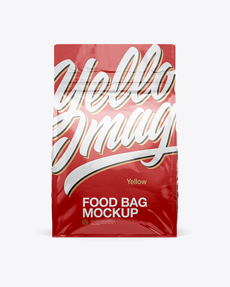 5a0c9669a1c89 2oz Glossy Food Bag Mockup - Front View templates