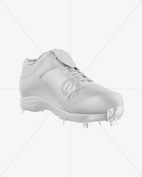 Download Baseball Sneaker Mockup Right Side View Yellowimages