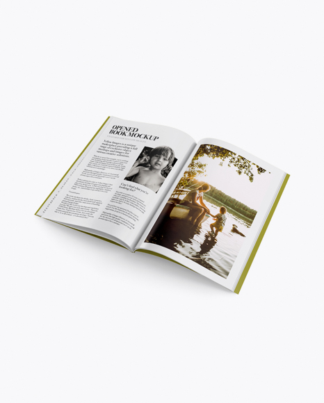 Download Free Download Mockup Magazine Yellow Images