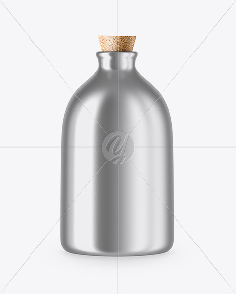 Download Black Glass Bottle With Cork Psd Mockup Yellowimages
