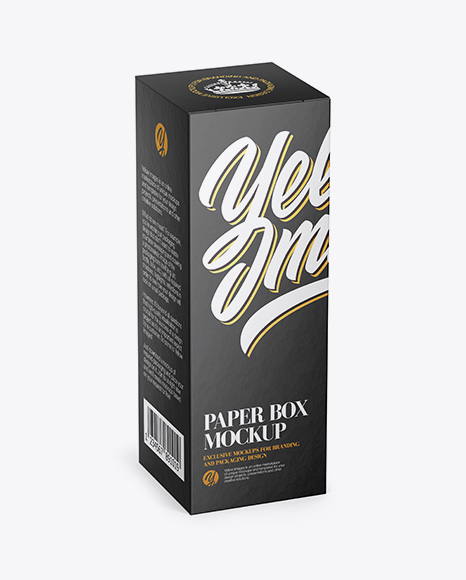 Download Paper Chocolate Bar Psd Mockup Front View High Angle Shot Yellow Images