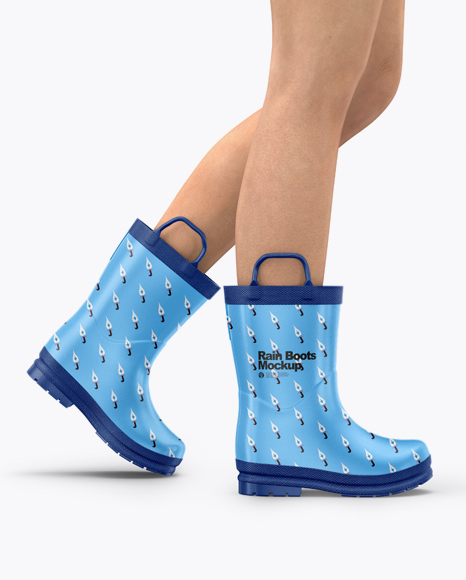 5acb38307c029 Rain Boots Mockup templates