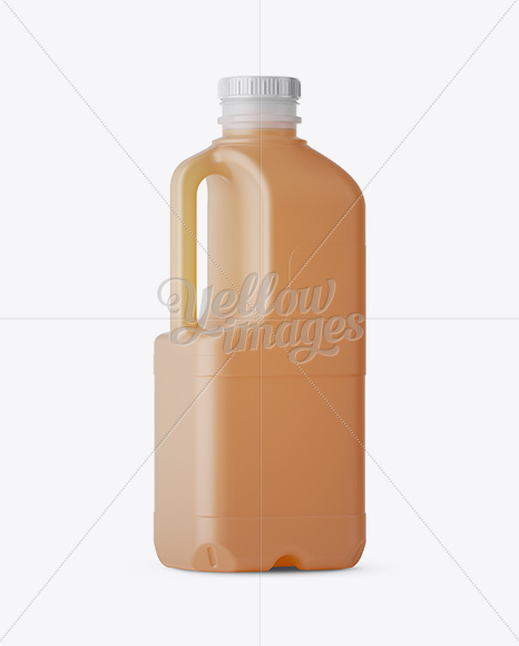 Download Plastic Jug Orange Juice Psd Mockup Yellowimages