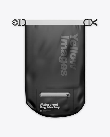 Waterproof Bag Mockup - Top View