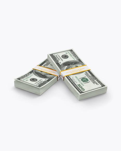 Money Stacks Mockup