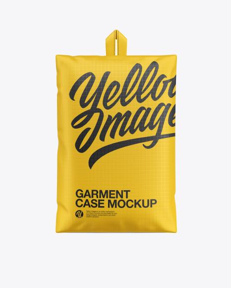 Garment Case Mockup - Front View