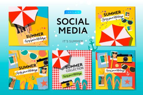 Download Social Media Mockup Yellowimages