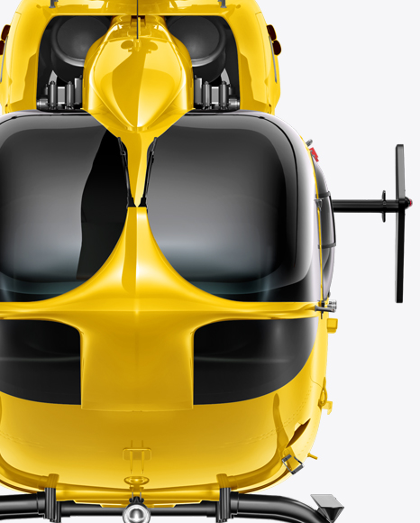 Download Helicopter Mockup - Front view Object Mockups
