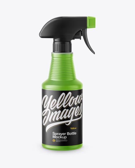 Sprayer Bottle Mockup