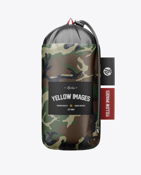 Packable Backpack Mockup