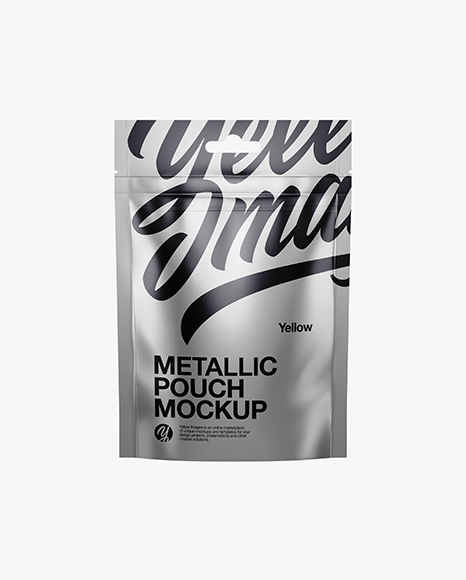 Metallic Stand Up Pouch - Front View