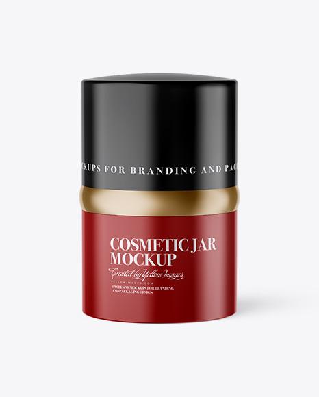 20ml Glossy Cosmetic Jar Mockup