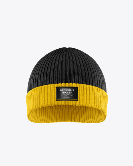 Download Beanie Hat Mockup Side View Yellowimages