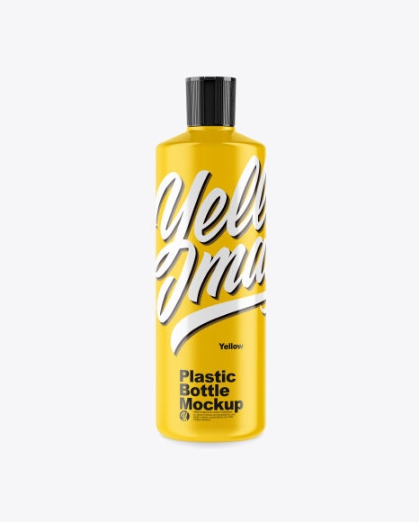 32oz Plastic Bottle Mockup