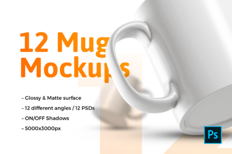 Download Mugs Mockup Psd Yellowimages