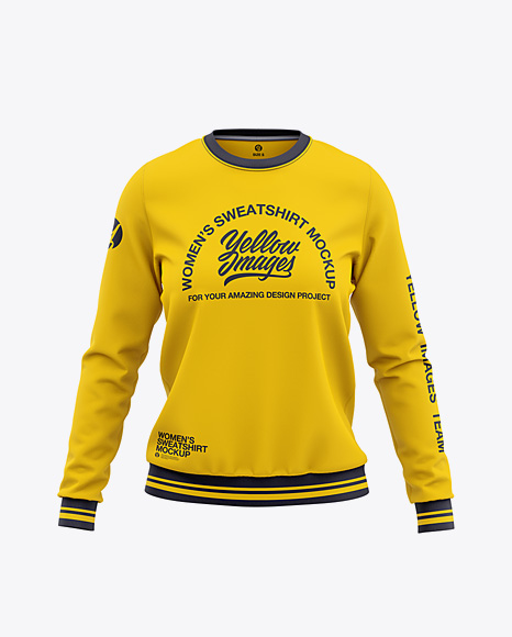 Women's Crew Neck Sweatshirt - Front View