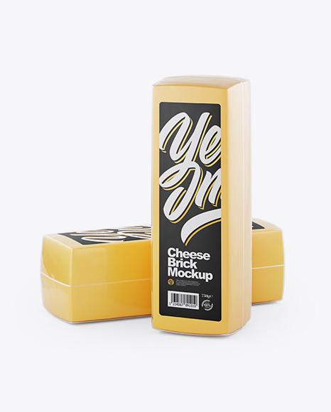 Two Cheese Bricks Mockup