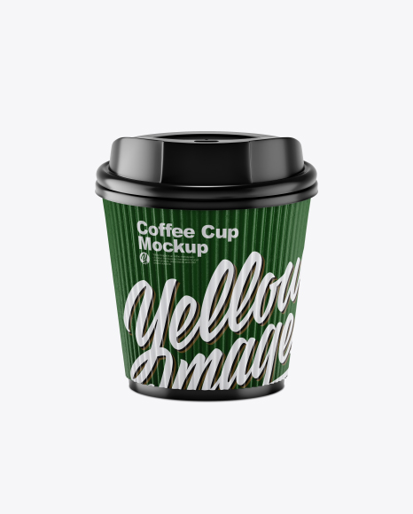 Textured Paper Coffee Cup Mockup