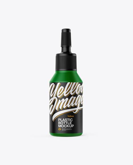 Matte Ampule Bottle Mockup