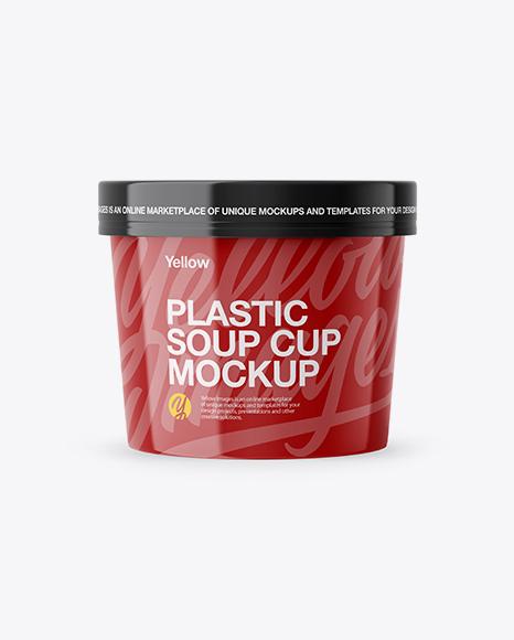 Plastic Soup Cup