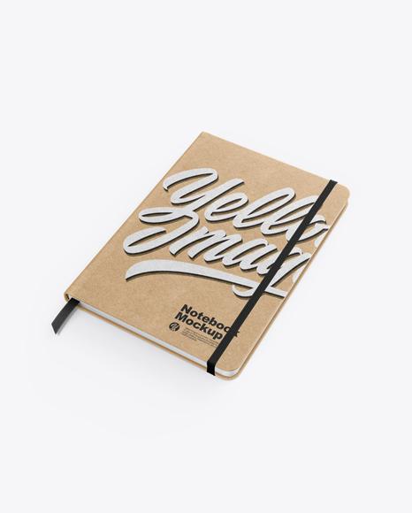 Craft Notebook Mockup