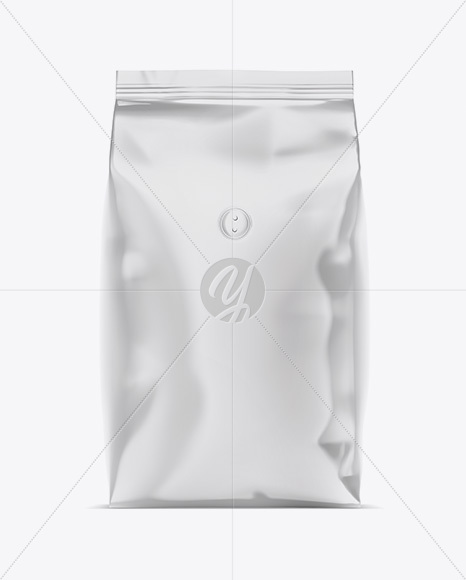 Download Glossy Metallic Coffee Bag Psd Mockup Yellowimages