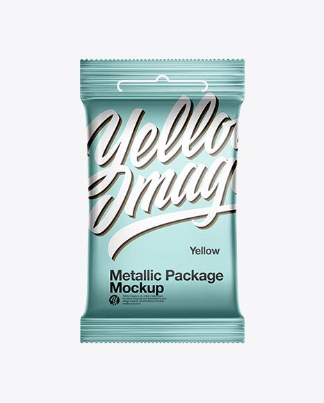 Metallic Pack Mockup