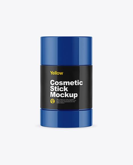 Glossy Cosmetic Stick Mockup