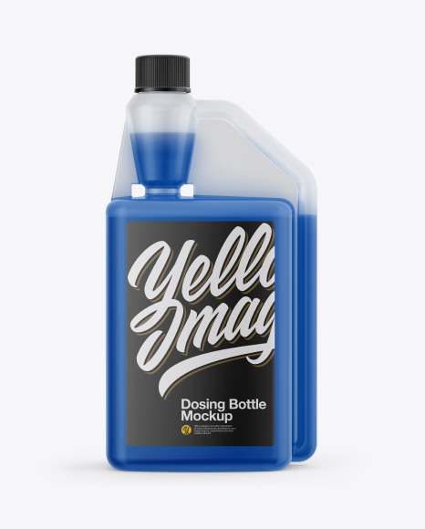 Dosing Bottle Mockup