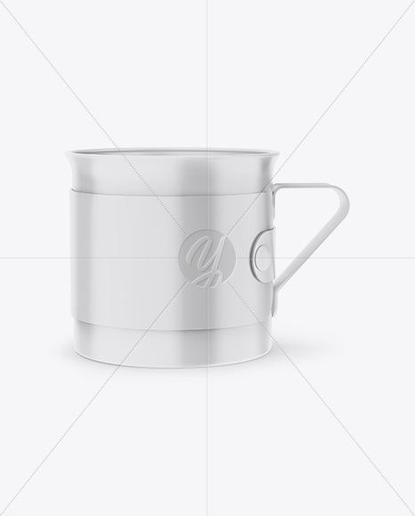 Download Matte Thermo Cup Psd Mockup Yellowimages